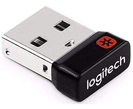 Receptor LOGITECH UNIFYING RECEIVER, USB, NEGRO
