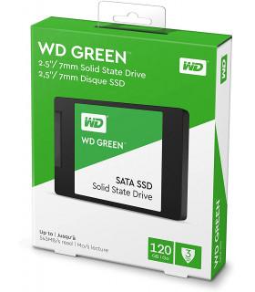 SSD Western Digital WD Green, 120GB, SATA III, 2.5'', 7mm